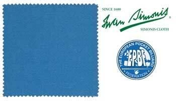 iwan simonis 860 tournament blue 165 cm 9 ft vallit balls import. Black Bedroom Furniture Sets. Home Design Ideas