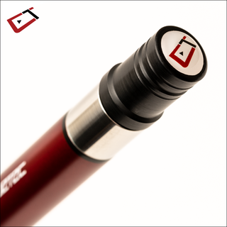 Biljardikeppi Cuetec Cynergy CT-15 Carbon, pool - Ruby Red