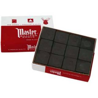 Master Chalk black 12 kpl